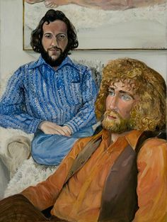 Ira Joel & John Perrault, 1972 © Sylvia Sleigh