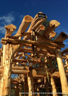 Start building your dream from nature. Located in British Columbia, Canada, Lake Country Log Homes your premier Log and Timber Frame home developer. Home Developers, Cedar Posts, Timber Frame Homes, Roofing Systems, Western Red Cedar, Log Homes, Wooden Houses, Tiny Houses, Construction