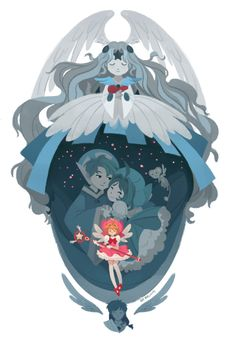 This was done for the Catching Sakura : A Cardcaptor Sakura Tribute Show.  The gallery is now closed but you can check out 3tarts for more upcoming shows.