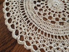 """I first saw this pattern on Crochet Galore's website. I've made it in both Size 10 Classic thread and Size 3 Cotton""""Fashion"""" thread. I prefer size 3 and I used a size crochet hook..."""