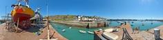 Dernières couches sur le port de Granville - France
