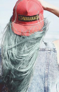nirvana pastel hat
