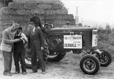 First Doncaster Farmall Tractor | Photograph | Wisconsin Historical Society