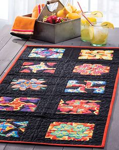 Stacked Four-Patch Fancy Table Runner - Quilter's World - Summer 2017 pg 28