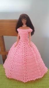 Resultado de imagen de patron de vestido de princesas a crochet para muñecas barbies