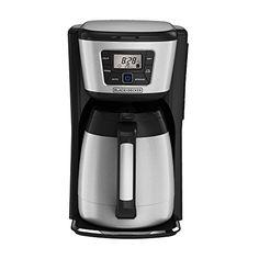 Black & Decker CM2035B 12-Cup Thermal Coffeemaker, Black/Silver BLACK+DECKER http://smile.amazon.com/dp/B00LU2I3V0/ref=cm_sw_r_pi_dp_eShHwb0TV530V