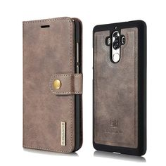 Wallet Leather Case For Huawei Mate 9 Detachable Back Cover Double Folded Stand Coques For Huawei Mate 9 Flip Case Bags