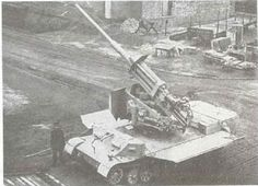 8.8cm FlaK auf Sonderfahrgestell (Pz.Sfl.IVc) with lowered walls of superstructure