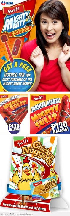 tent card & buntings by { ideo studios } Client: Swift Corporate Communication, Buntings, Tent Cards, Advertising Agency, Office Art, Video Photography, Design Development, Digital Media, Swift