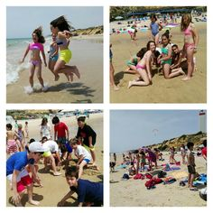 #primariasekelcastillo  @institucionsek 5EP Playa en Matalascañas