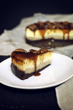 St[v]ory z kuchyne | Wallnut Cheesecake with Salted Caramel