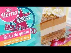 TARTA DE QUESO CON MANZANA Y DULCE DE LECHE   Estilo Foster's Hollywood   Quiero Cupcakes! - YouTube