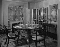 """At the """"Trend House"""" installation at Marshall Field & Co., a bevy of mirrors reflect an eclectic arr... - Chicago History Museum + Getty"""