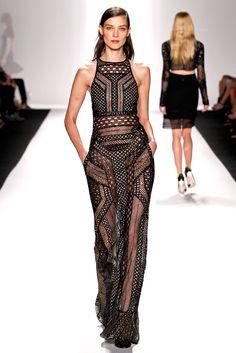sexy rocker chic j mendel new york fashion week 2014