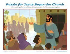 Jesus Began the Church Jigsaw Puzzle