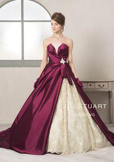 カラードレス オリジナルコレクション JILLSTUART WEDDING 公式ホームページ [ジルスチュアート ウェディング]