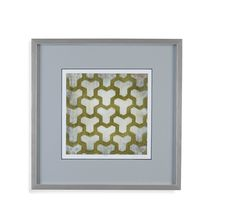 Spectrum Symmetry IV Framed Painting Print