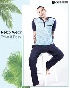 Relax in Style with the Comfiest Relaxwear from Valentine. Shop now https://www.valentineclothes.com/men/sports.html #MenLoungewear #Relaxwear #Leisurewear #Valentine #ValentineClothes #MadewithLove #FollowyourHeart #HappyShopping