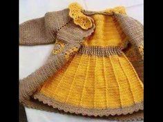 """""""Kolay bebek elbisesi"""" yapımı! - YouTube"""