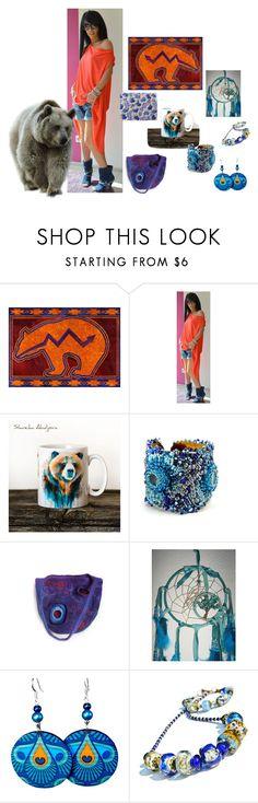 """Zuni Bear"" by earthspalette on Polyvore featuring beauty"