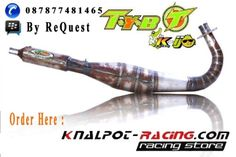 knalpot racing kolong rx king tyb kolor ijo