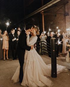 I loved using sparklers at my wedding. Soo pretty!
