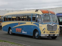 MJB 481 Preserved Bedford SB / Duple Vega - Lodge's Coaches / Foxy Bingo Co.
