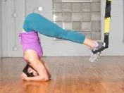 TRX Workout: 44 Effective Exercises for Full-Body Strength Kettlebell Workout Video, Kettlebell Training, Workout Kettlebell, Kettlebell Benefits, Kettlebell Challenge, Yoga Videos For Beginners, Free Yoga Videos, Suspension Workout, Suspension Trainer