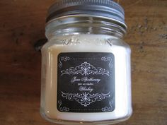 Pure Soy Candle Whiskey Rustic Fall Masculine Autumn Fragrance by JuneApothecary on Etsy