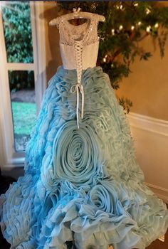 """""""Blissful Enchantment""""... An Exquisite Special Occasion Gown"""