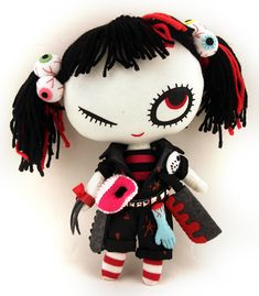 Sweet & Creepy Plushies by Mizna Wada