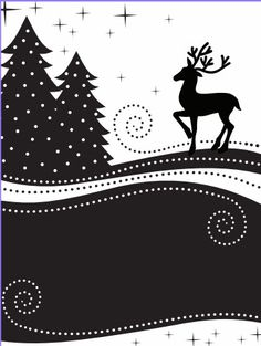 723601 Couture Creations A2 Embossing Folder Wrapped in Joy Collection Reindeer Silhouette  $5.95