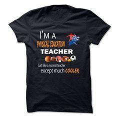 Physical Education Teacher Cooler T Shirt