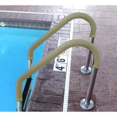 Blue Wave Grip for Pool Handrails -