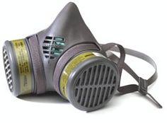 MOLDEX Kit respirador 1/2 cara con cartuchos Multigas - Vapores Orgánicos 8602