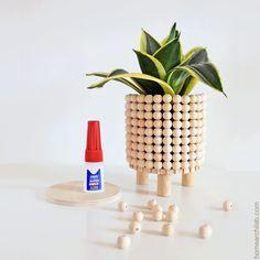 Home Crafts, Diy Home Decor, Diy And Crafts, Room Decor, Deco Boheme, Diy Plant Stand, Ideias Diy, Boho Diy, Bohemian Crafts