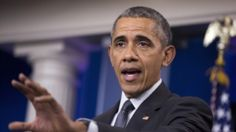 President Barack Obama speaks about the new rules aimed at deterring tax inversions, April 5, 2016, in the Brady Press Briefing Room at the White House in Washington.
