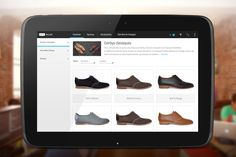 Application Android M-Commerce, design mobile (exemple chaussures Jacques & Déméter)