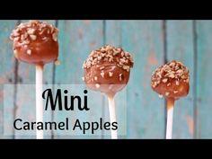 How To Make Mini Caramel Apples! Kids LOVE these! - YouTube