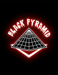 (Black Pyramid Logo) Behind The Right Ear. | Tatted Up ...