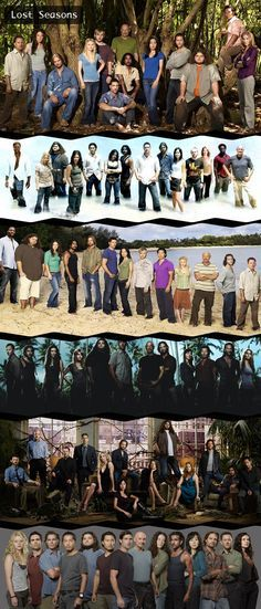 LOST, there's no season one though. There's two for season three (because Charlie, Eko, Ben, Desmond and Juliet are in it).