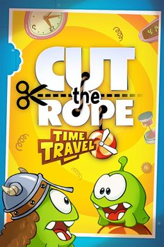 Fill in the blank: I think the new Cut the Rope: Time Travel game is ____________. * iPhone or iPod touch: http://itunes.apple.com/app/id608899141 * iPad:  http://itunes.apple.com/app/id608901634 * Google Play: http://play.google.com/store/apps/details?id=com.zeptolab.timetravel.paid.google #cuttherope #time #travel #omnom #cute #green #little #monster #love #yummy #candy #sweets #playing #play #mobile #game #games #phone #fun #game #happy #funny #face #eyes #smile #nice http://cuttherope.ne...