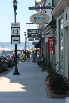 Downtown Bayfield, Wisconsin