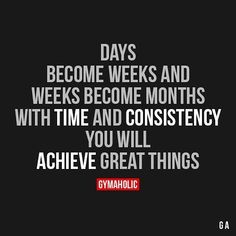 With time and consistency you will achieve great things #ellipticals