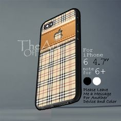 burberry inspired Iphone 6 note for 6 Plus Iphone 4, Iphone Cases, New Product, Burberry, Notes, Messages, Inspired, Report Cards, Iphone Case