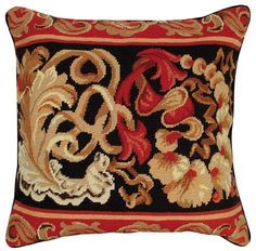 Palazzo 20 x 20 inches needlepoint pillow    http://www.deluxepillows.com/palazzo-20-x-20-inches-needlepoint-pillow.html
