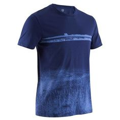 Одежда для фитнеса Фитнес, танцы - Футболка Sportee Муж. DOMYOS - Фитнес, танцы