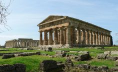 The Random Ramblings — historyfilia:  The two Hera Temples from Paestum,...