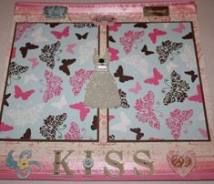 Wedding Premade Scrapbook Page by PattiChicBoutique on Etsy