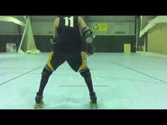 Roller Derby Inside Edge Fake and Slip with SauSarge Rolls #11 - YouTube